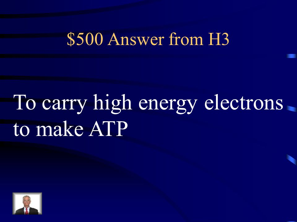 To carry high energy electrons to make ATP