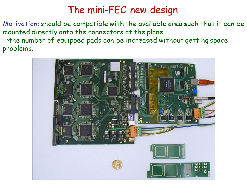 The mini-FEC new design