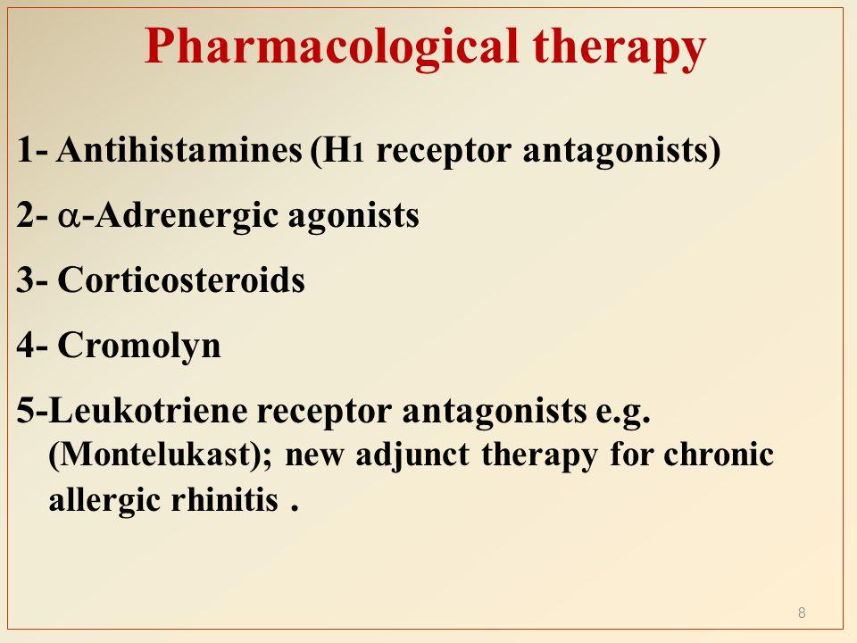 Pharmacological Treatment Of Acute Amp Chronic Rhinitis