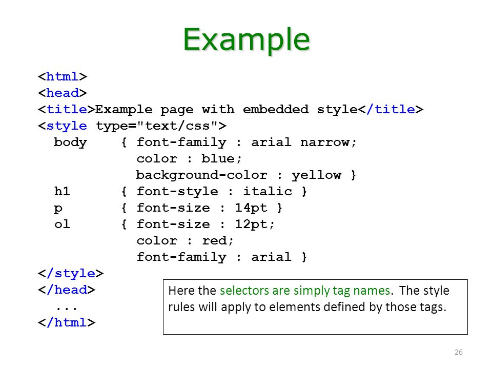 Computer literacy 101: working with the web: html & css basics.