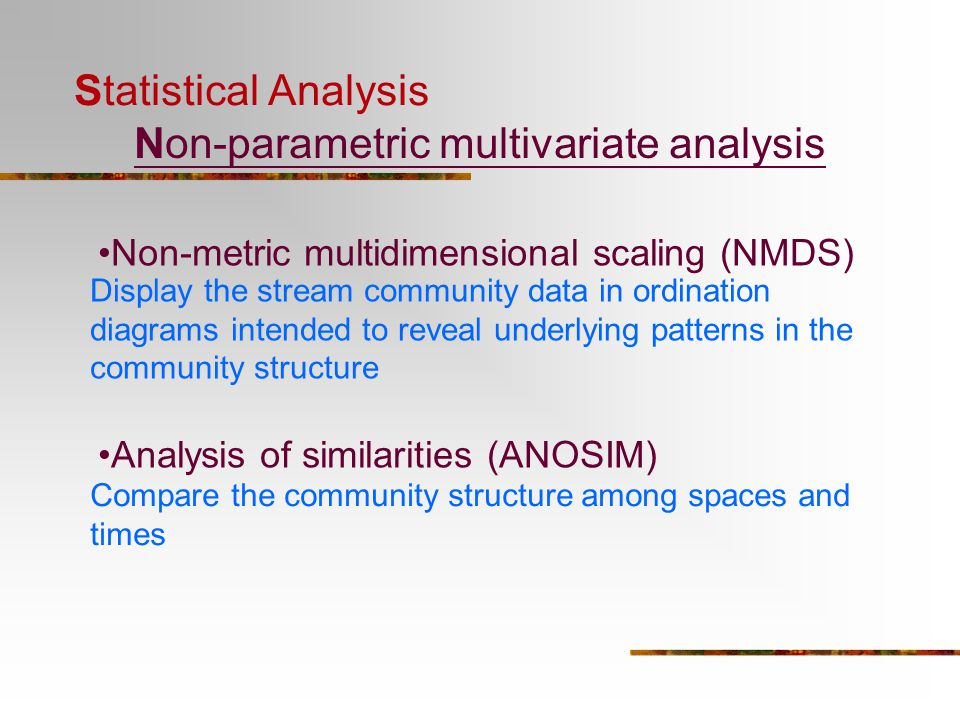 An Introduction to Multivariate Analysis - ppt video online