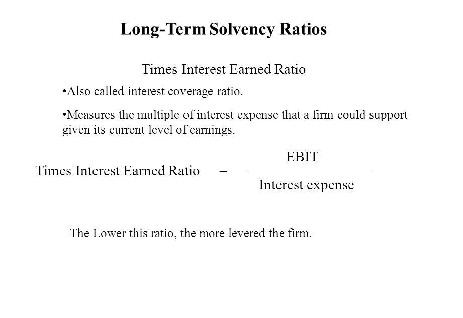 how to find times interest earned