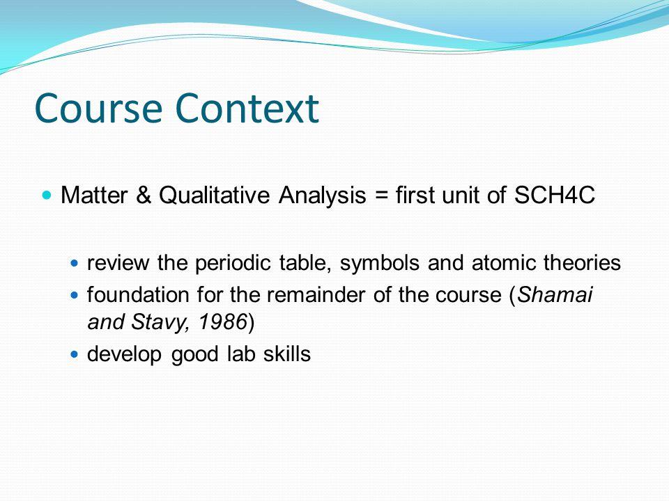 Qualitative Analysis 4c A Foundation For Lab Skills Ppt Video