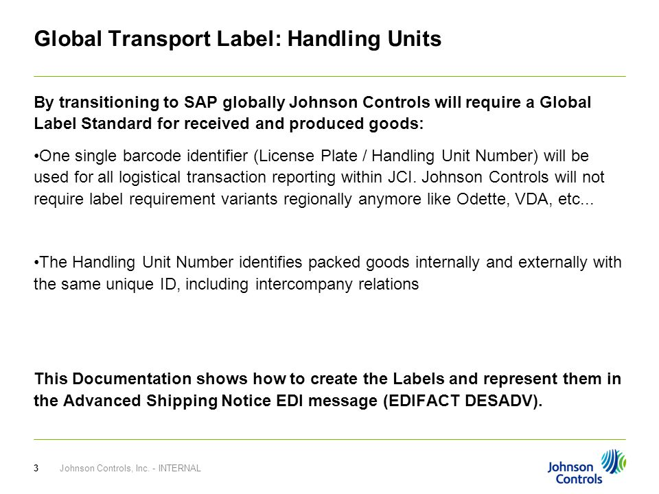 Global Transport Label Requirements - ppt video online download