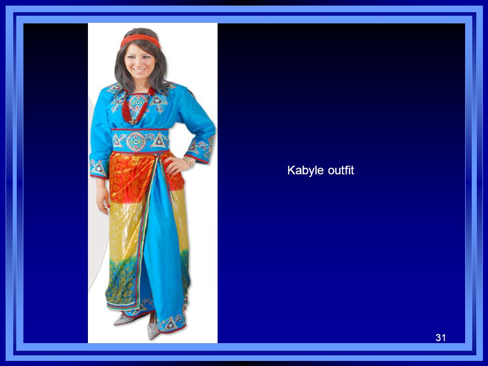Kabyle outfit