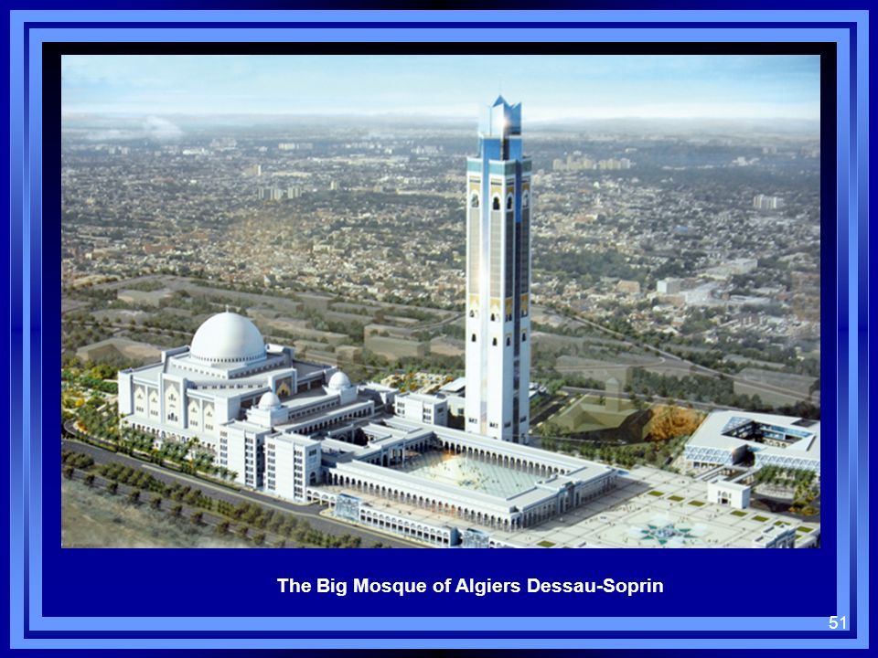The Big Mosque of Algiers Dessau-Soprin