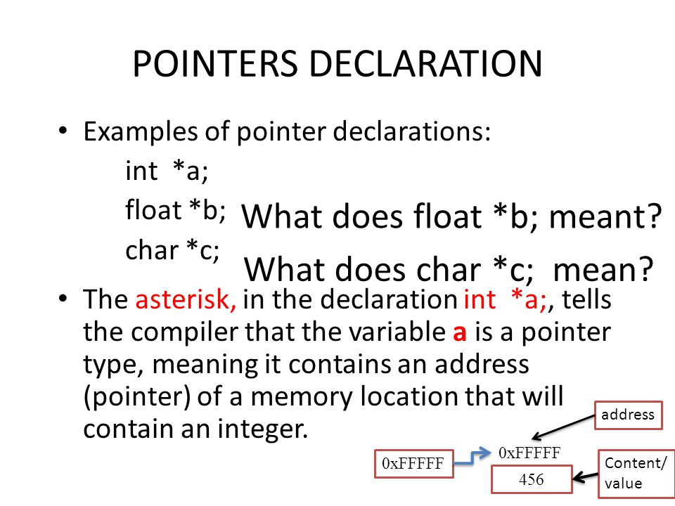 Pointers in C Rohit Khokher - ppt download