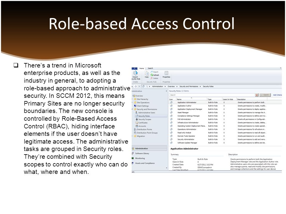 SCCM 2012 – infrastructure considerations, new features