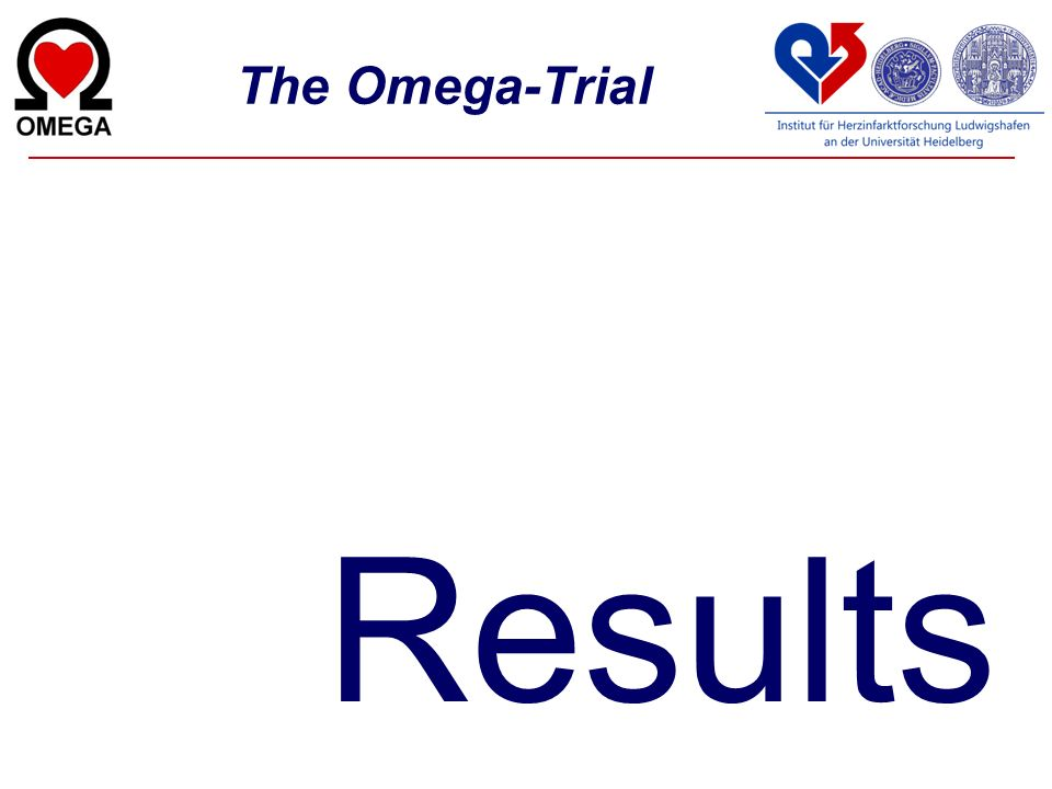 The Omega-Trial Results