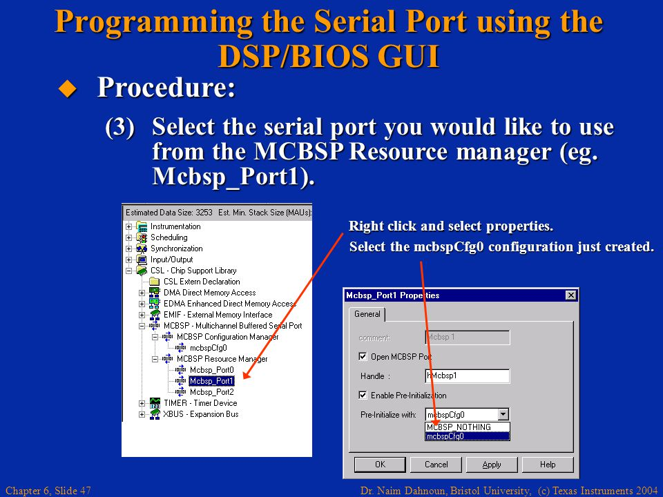 MCBSP DEVICE DRIVERS PC