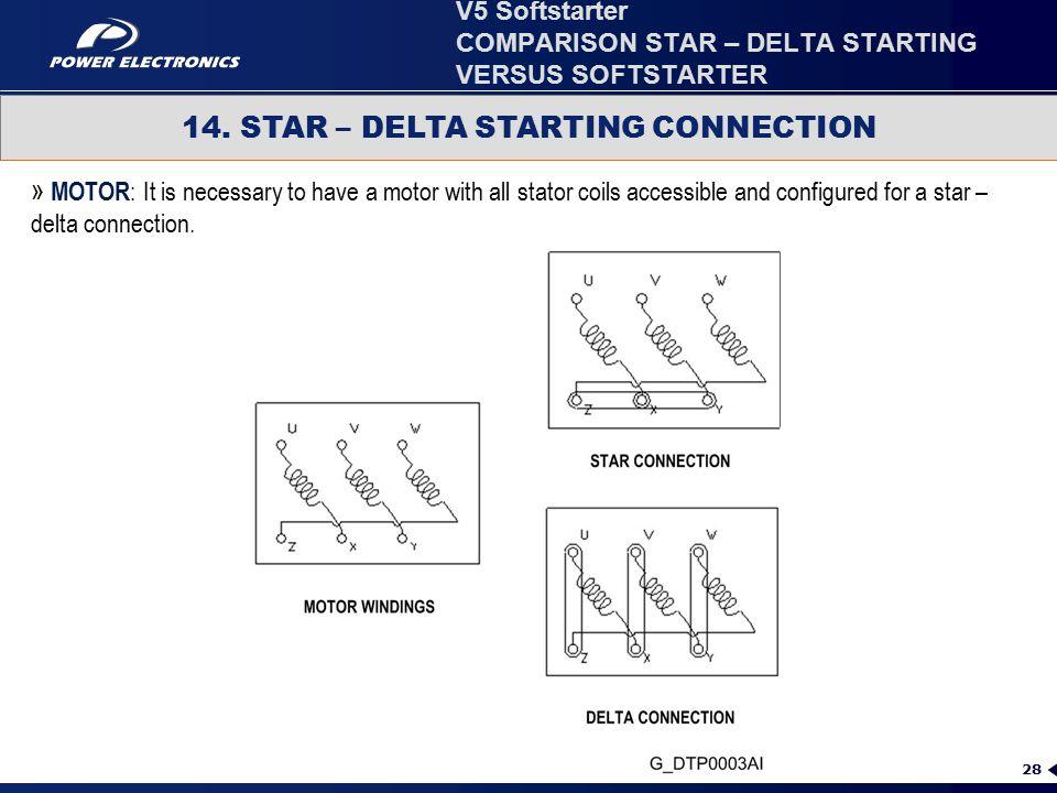COMPARISON STAR – DELTA STARTING VERSUS SOFTSTARTER - ppt video ...