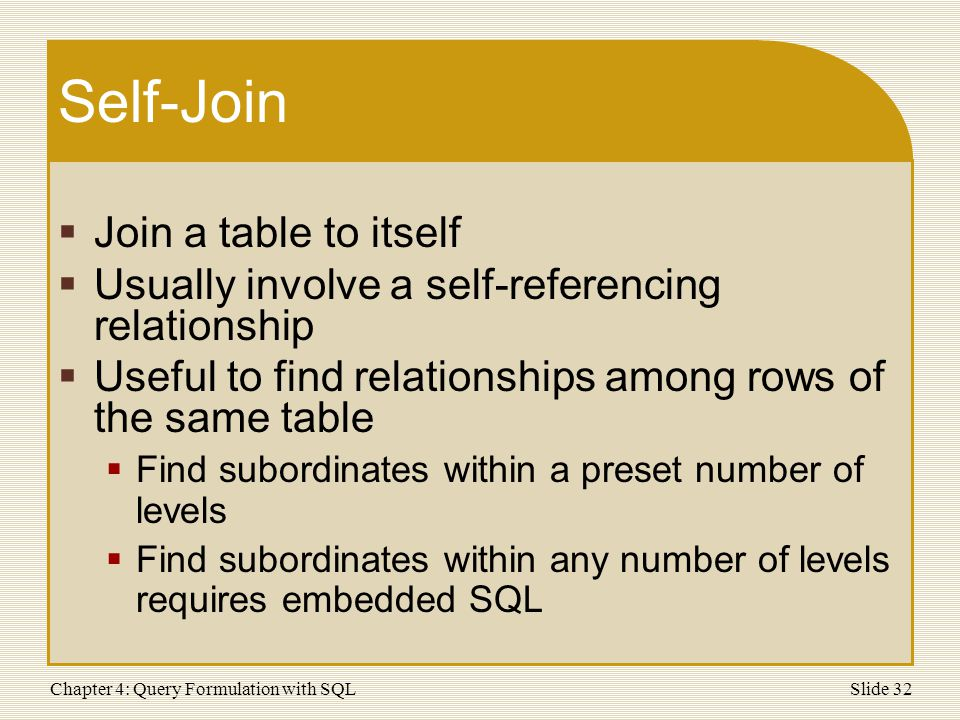 Query Formulation with SQL - ppt download