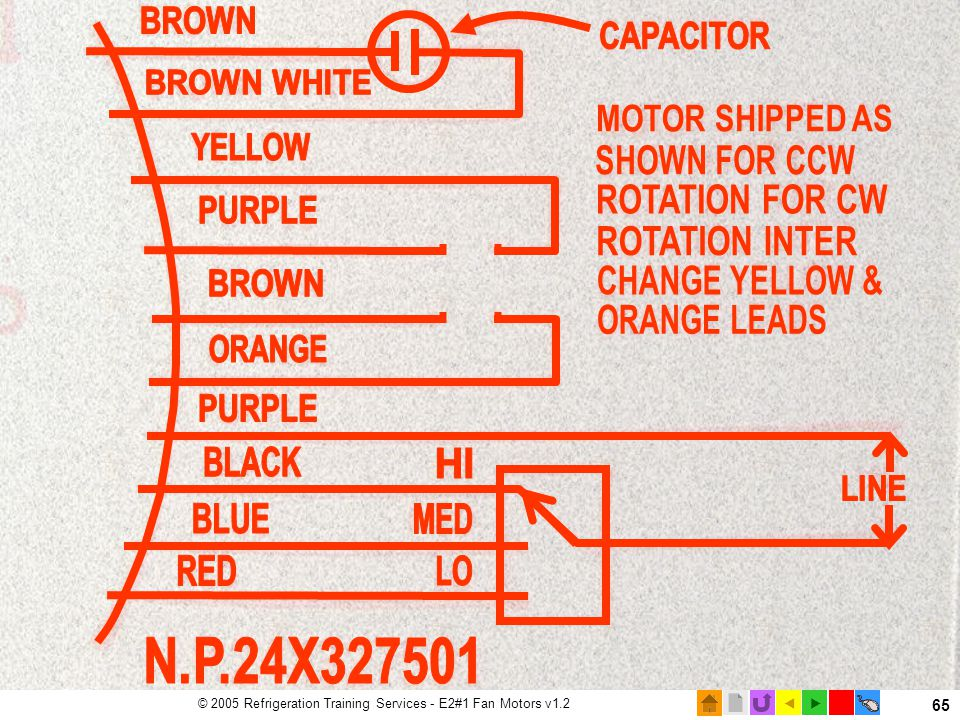 Motor Nameplate wiring diagram