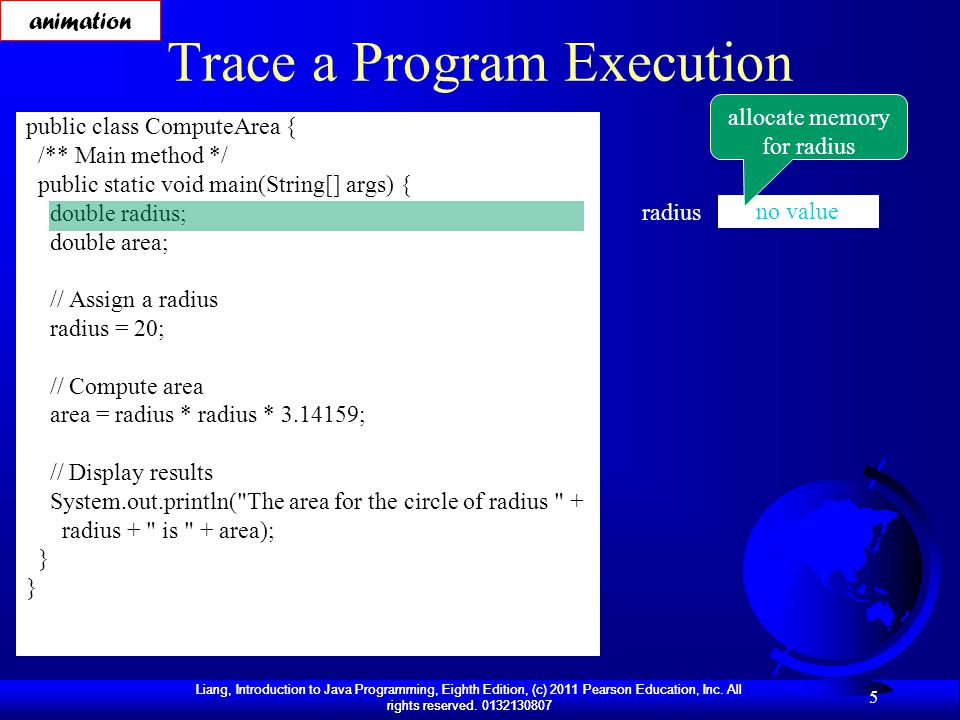 Trace a Program Execution