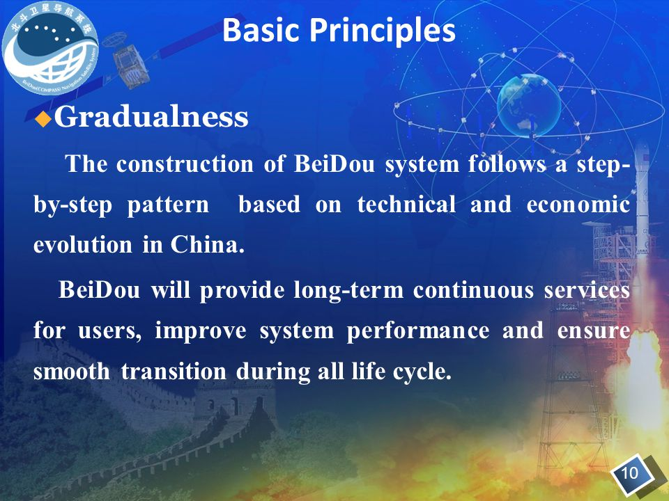 Basic Principles Gradualness