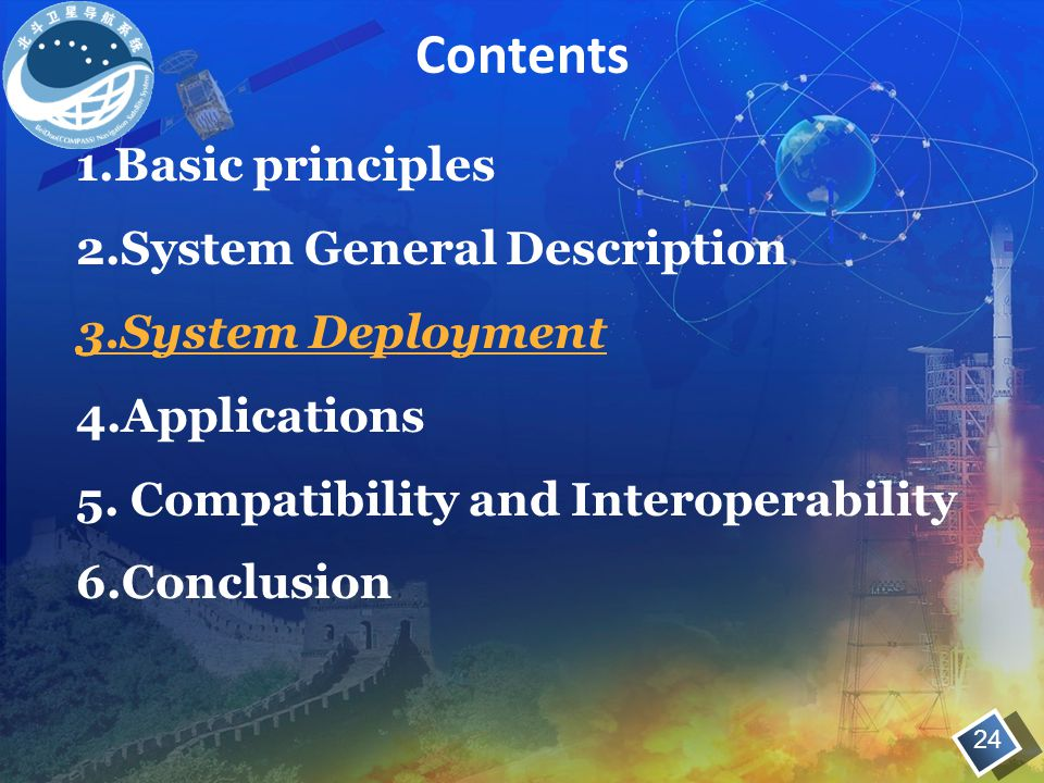 Contents 1.Basic principles 2.System General Description