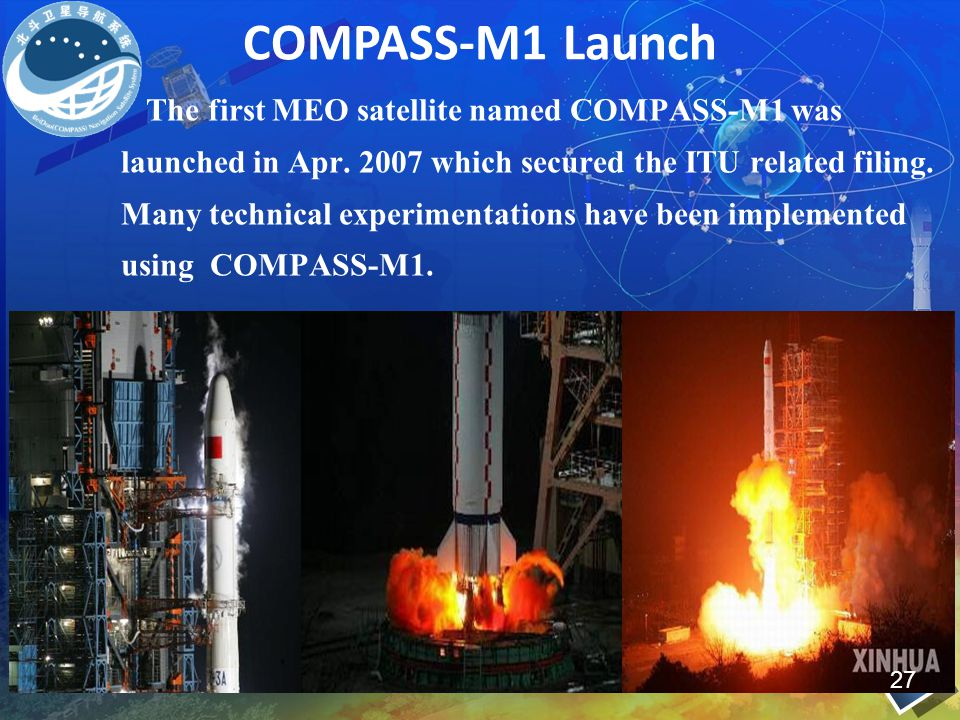 COMPASS-M1 Launch