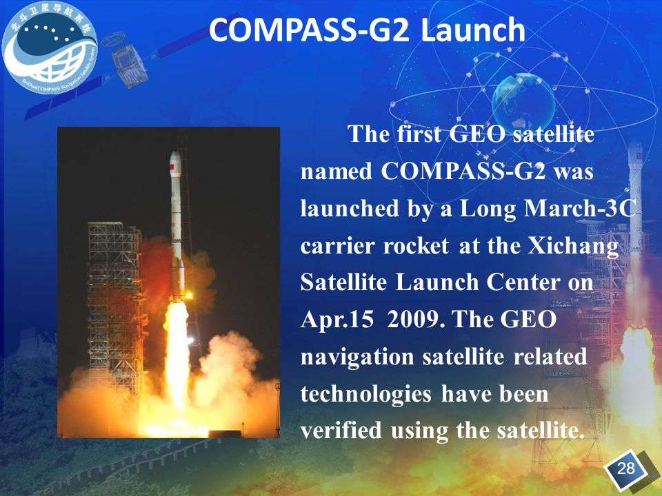 COMPASS-G2 Launch