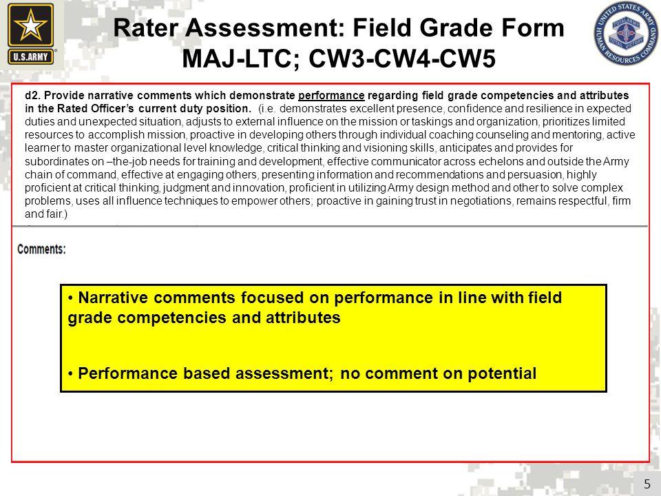 Revised Officer Evaluation Report - ppt video online download