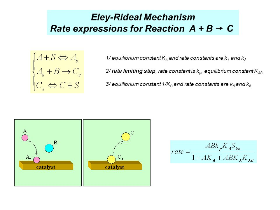 Eley-Rideal Mechanism