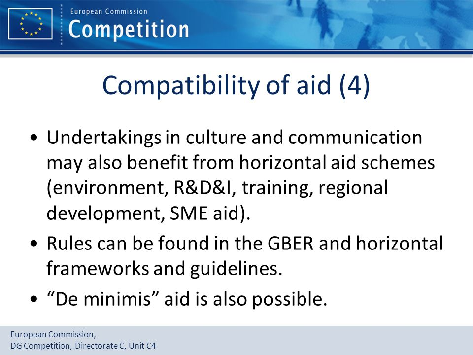 Compatibility of aid (4)