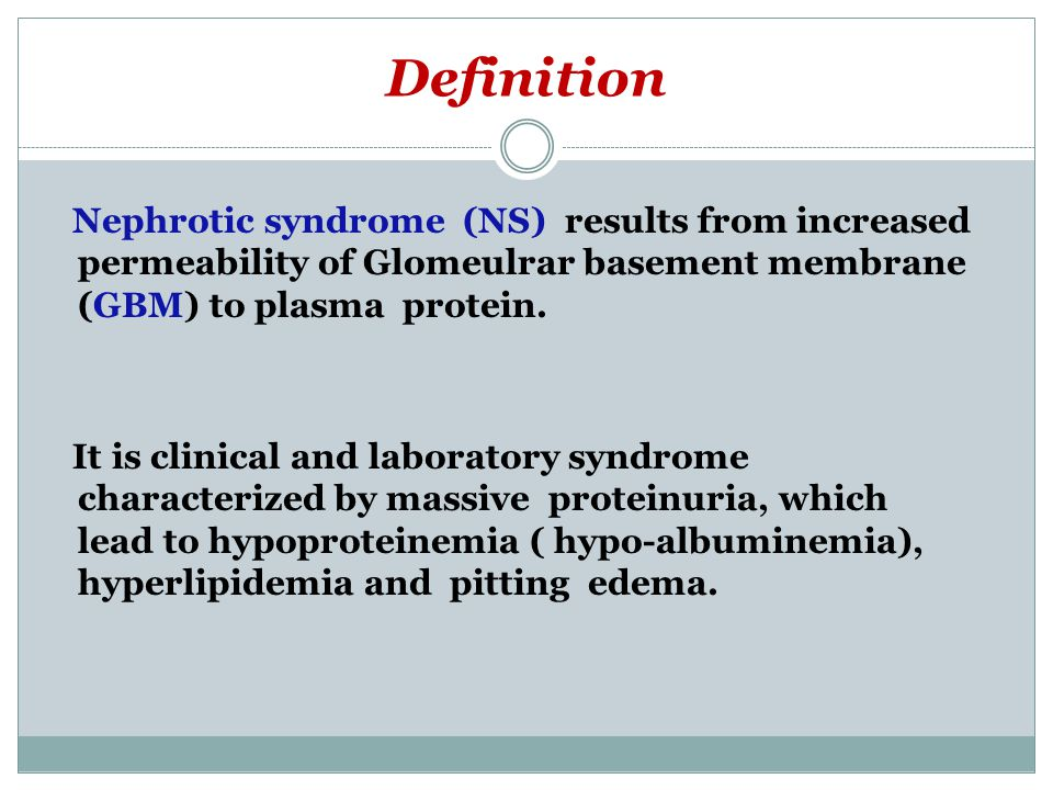 NEPHROTIC SYNDROME DEFINITION EBOOK DOWNLOAD