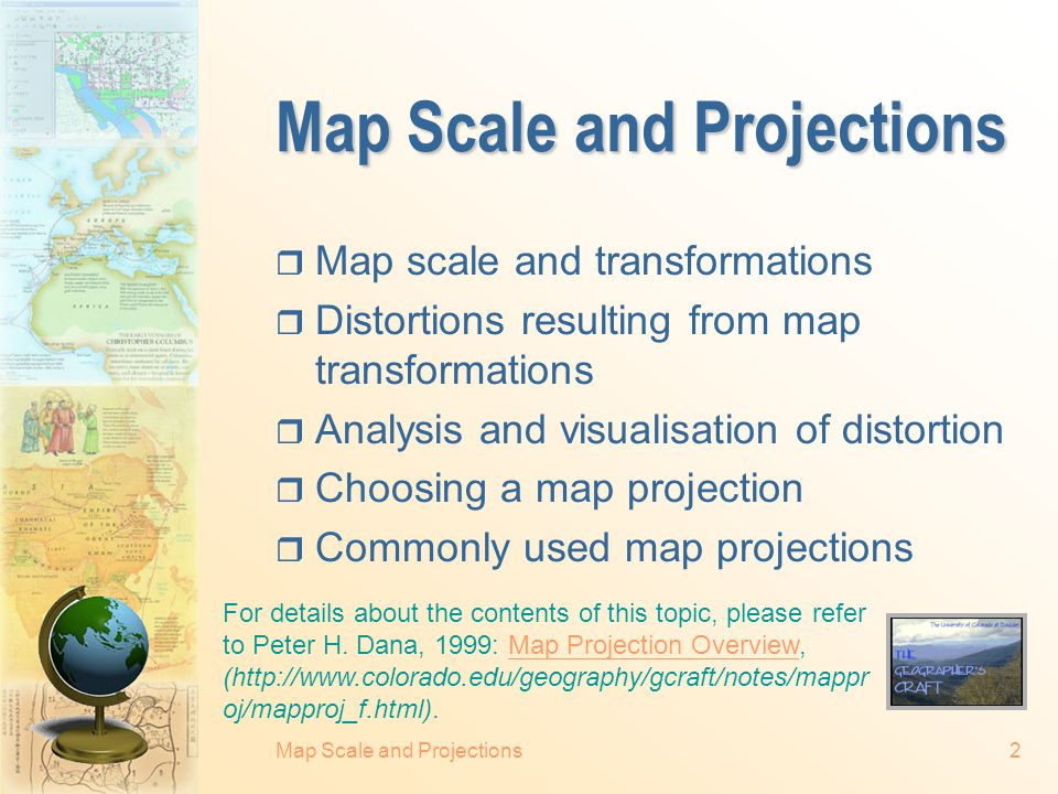 Map Scale and Projection - ppt video online download