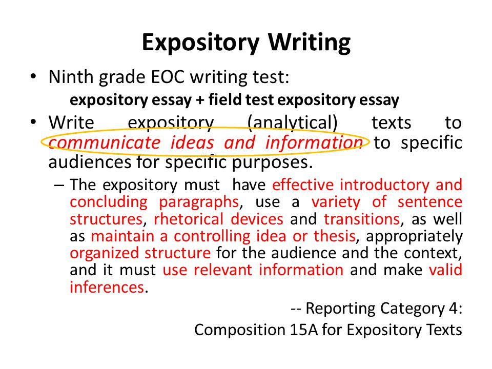 write an explanatory note on conclusion