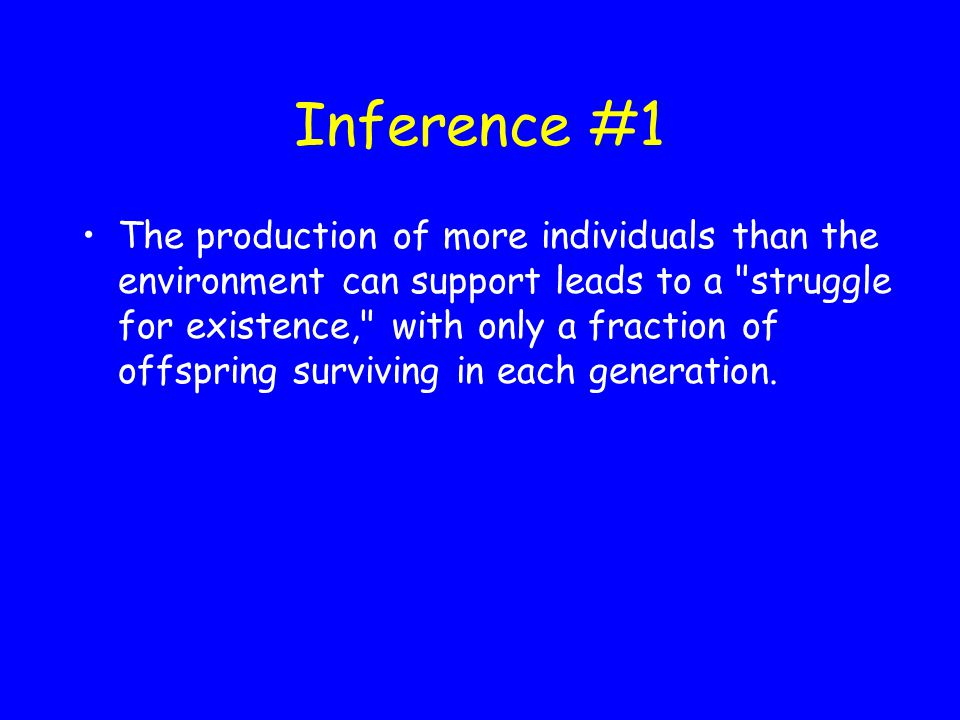 Inference #1