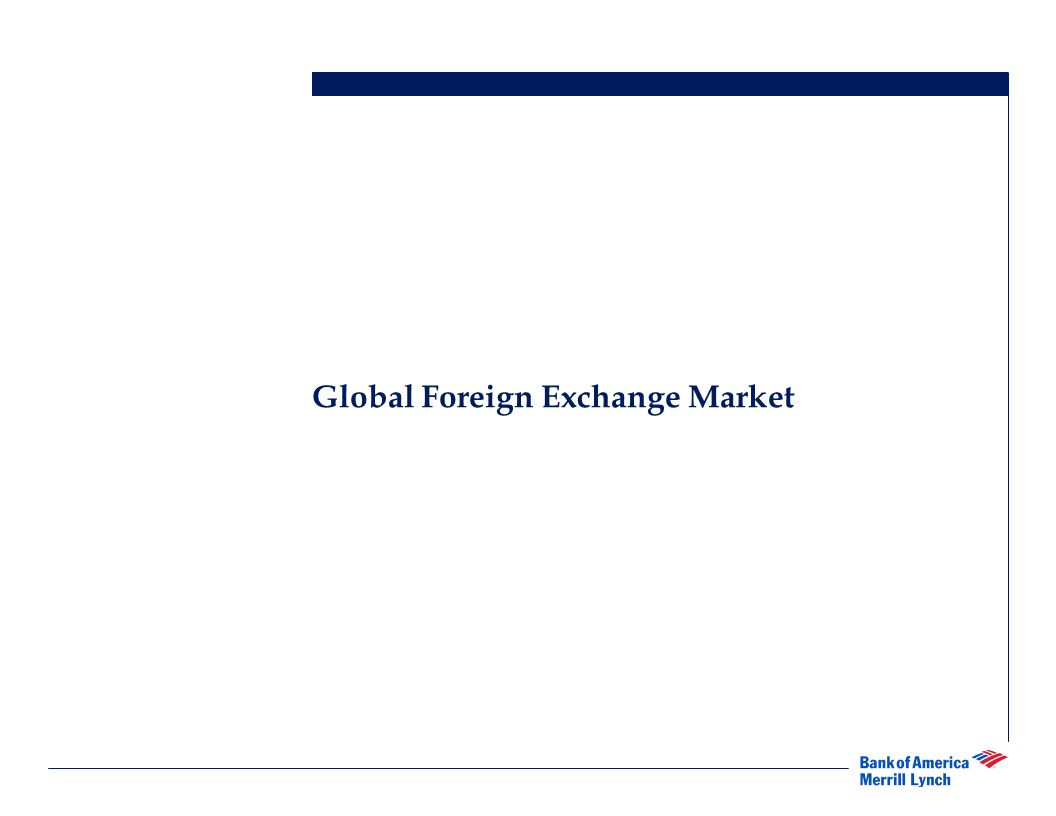 Mitigating Foreign Currency Risk