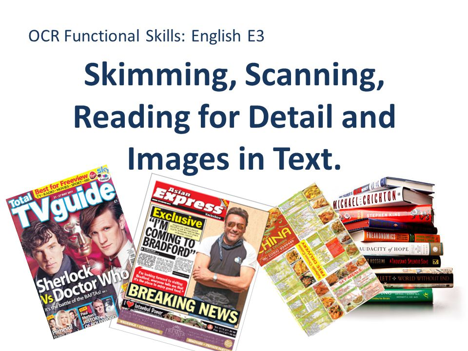 OCR Functional Skills: English E3