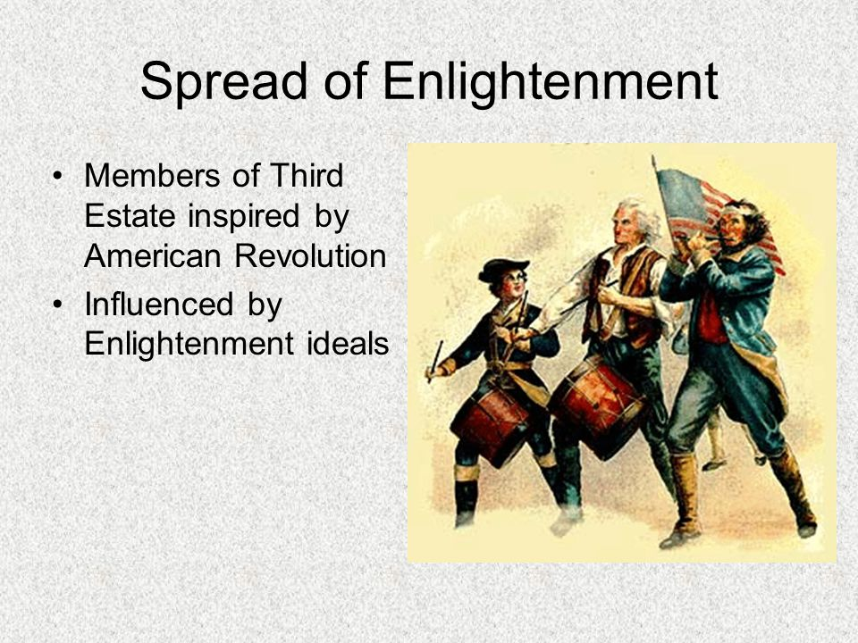 Spread of Enlightenment