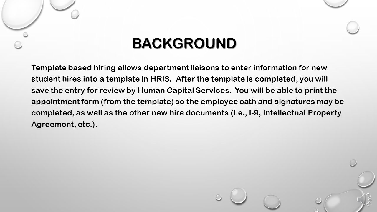 FOR HOURLY AND GRADUATE STUDENT NEW HIRES - ppt video online download