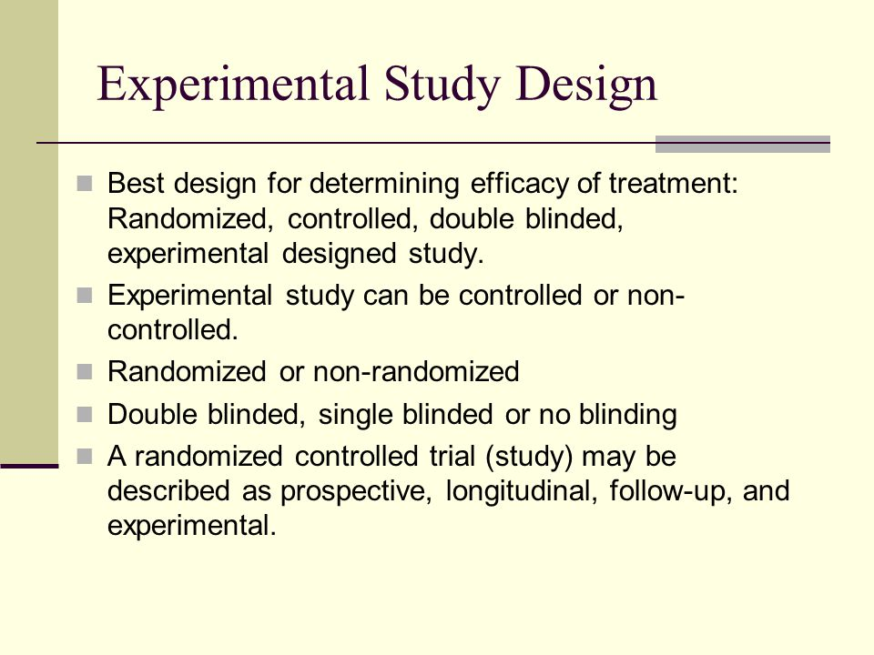 Understanding Cancer Research Study Design and How to ...