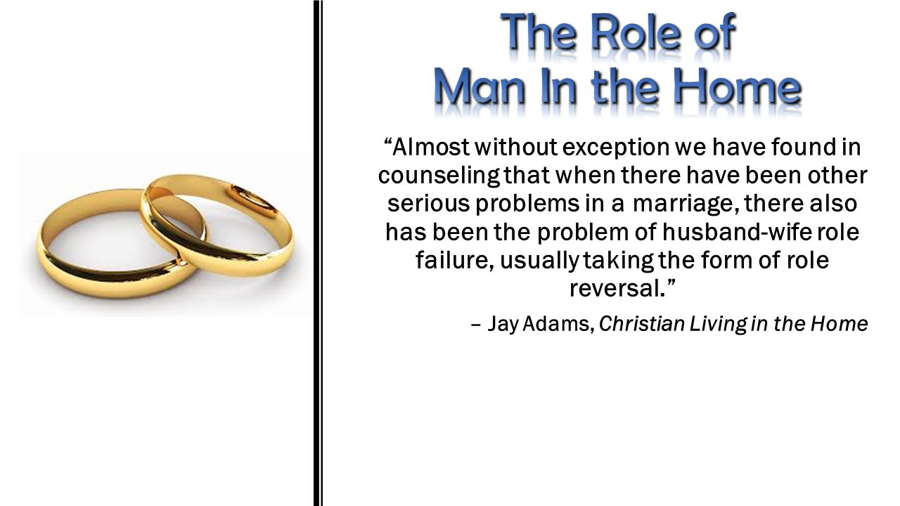 Christian roles of husband and wife