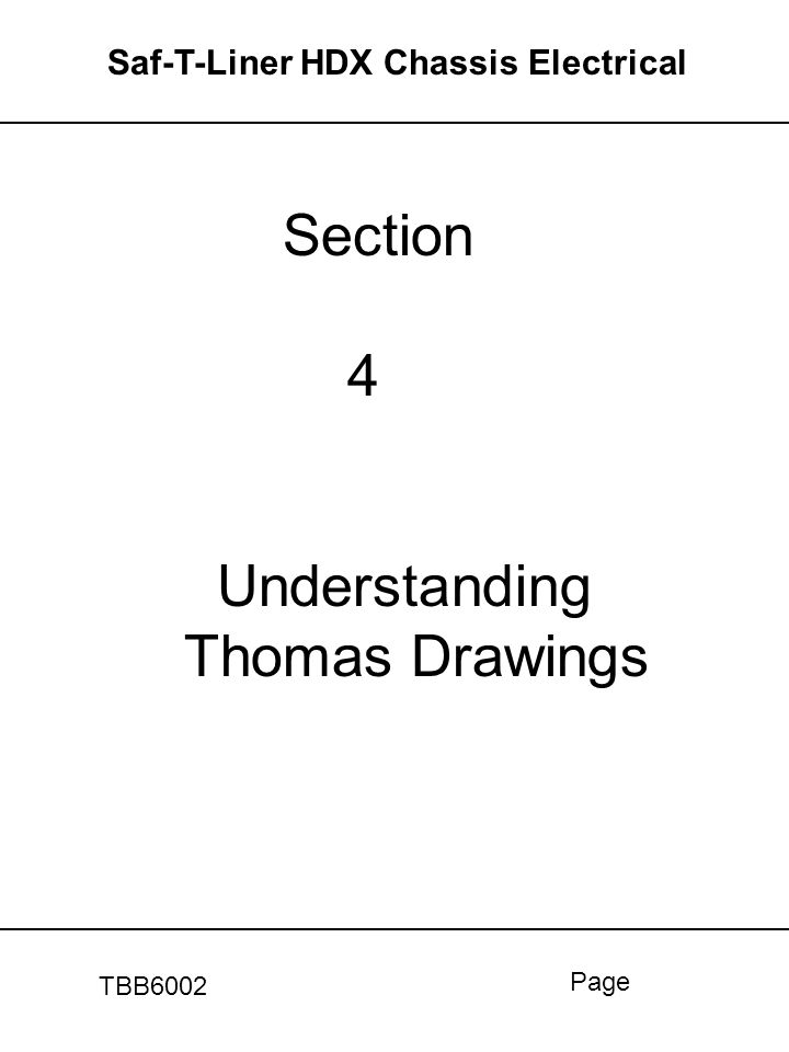 Section 4 Understanding Thomas Drawings