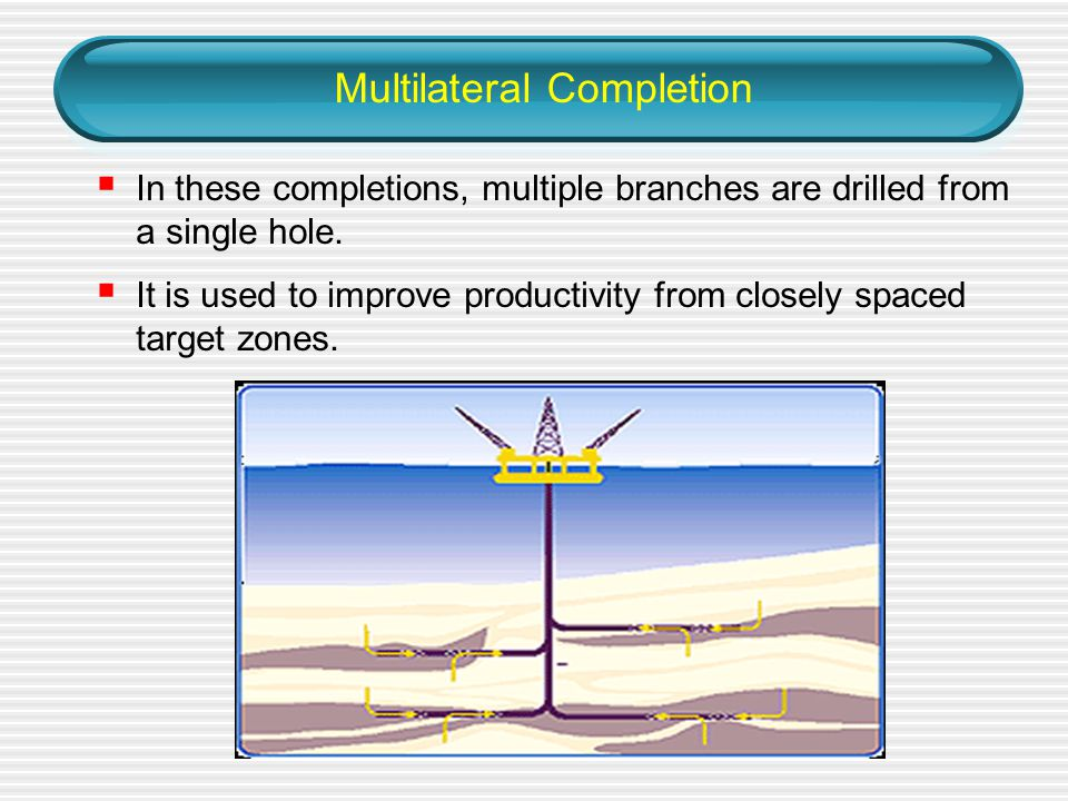 Multilateral Completion