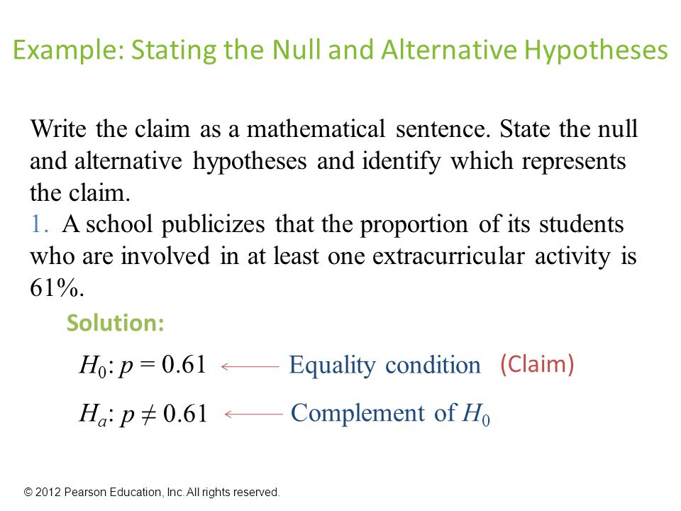 Ch 9 hypothesis testing with one sample part i.