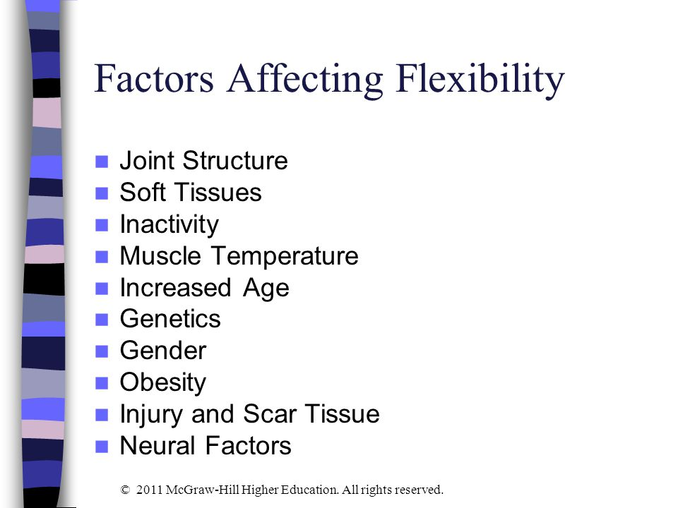 Factors Affecting Flexibility
