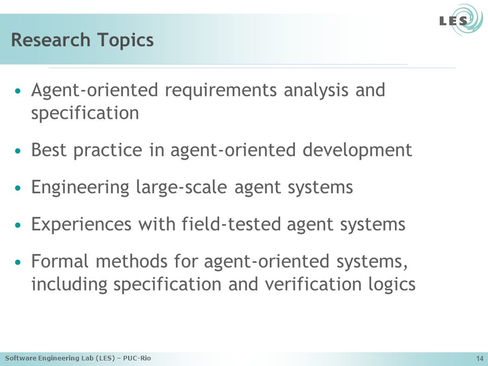 Agent-oriented requirements analysis and specification