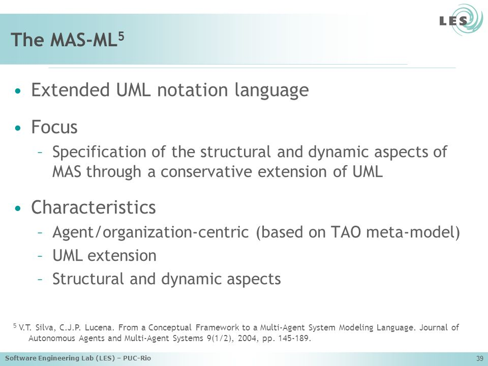 Extended UML notation language Focus