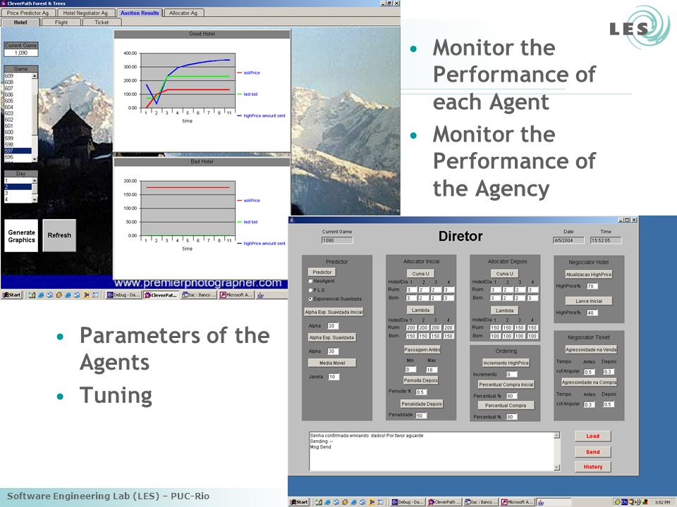 Monitor the Performance of each Agent