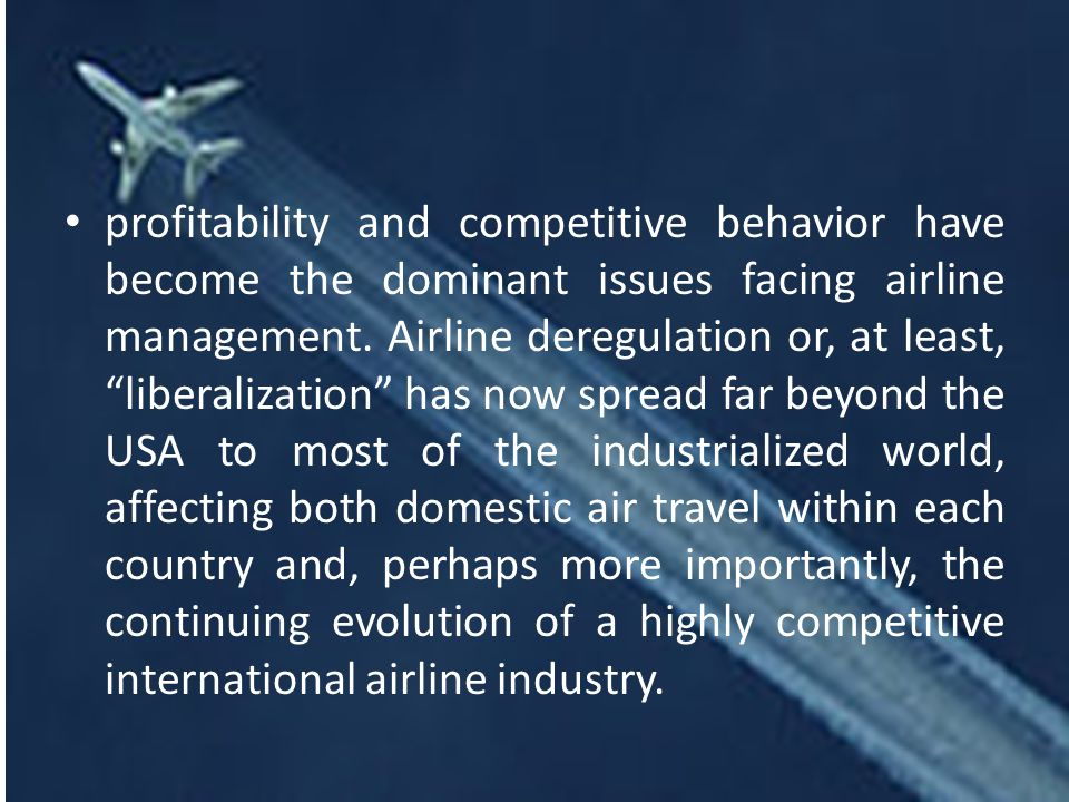 Airline management airline management syllabus out line course profitability and competitive behavior have become the dominant issues facing airline management fandeluxe Image collections