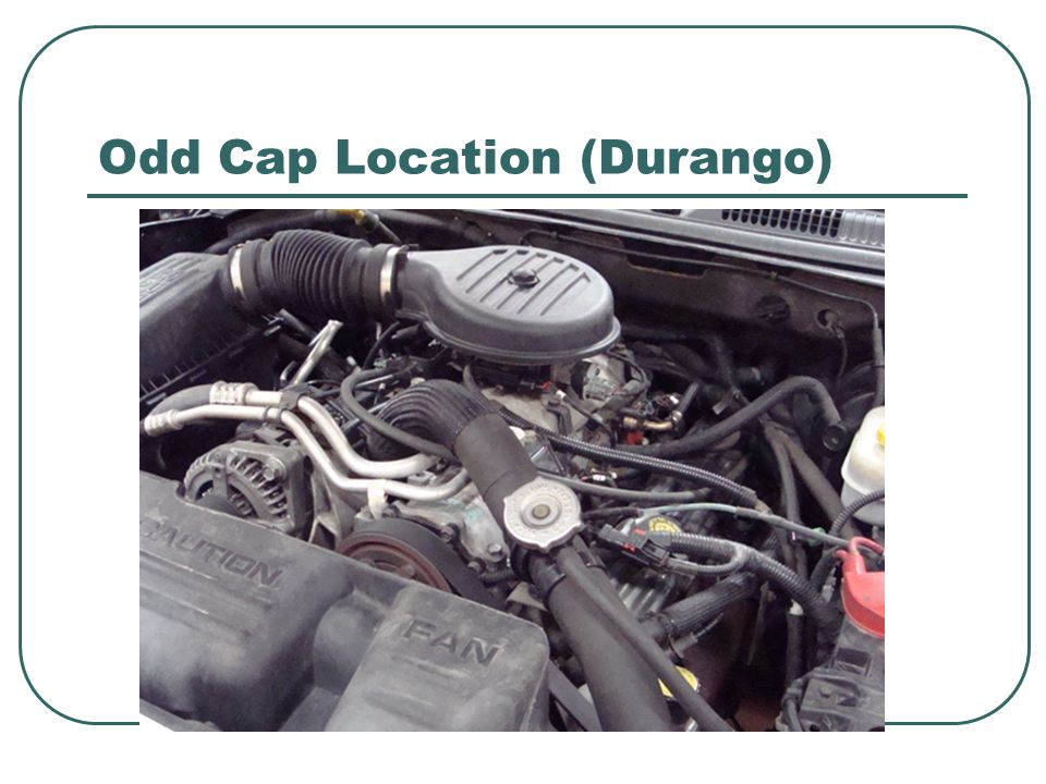 Odd Cap Location (Durango)