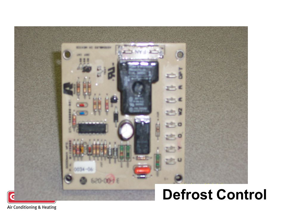 Defrost Control