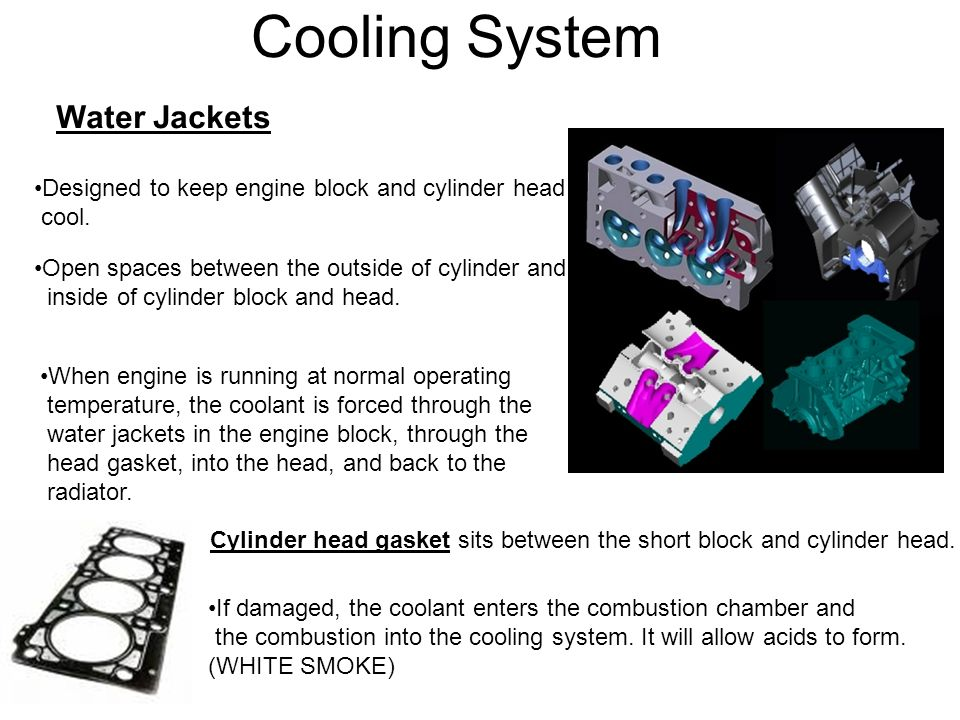 Cooling System Water Jackets