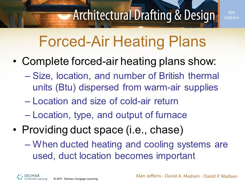 Forced-Air Heating Plans