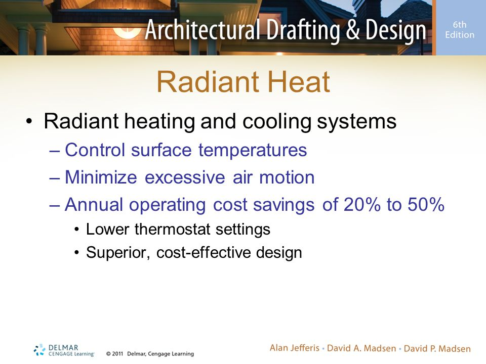 Radiant Heat Radiant heating and cooling systems