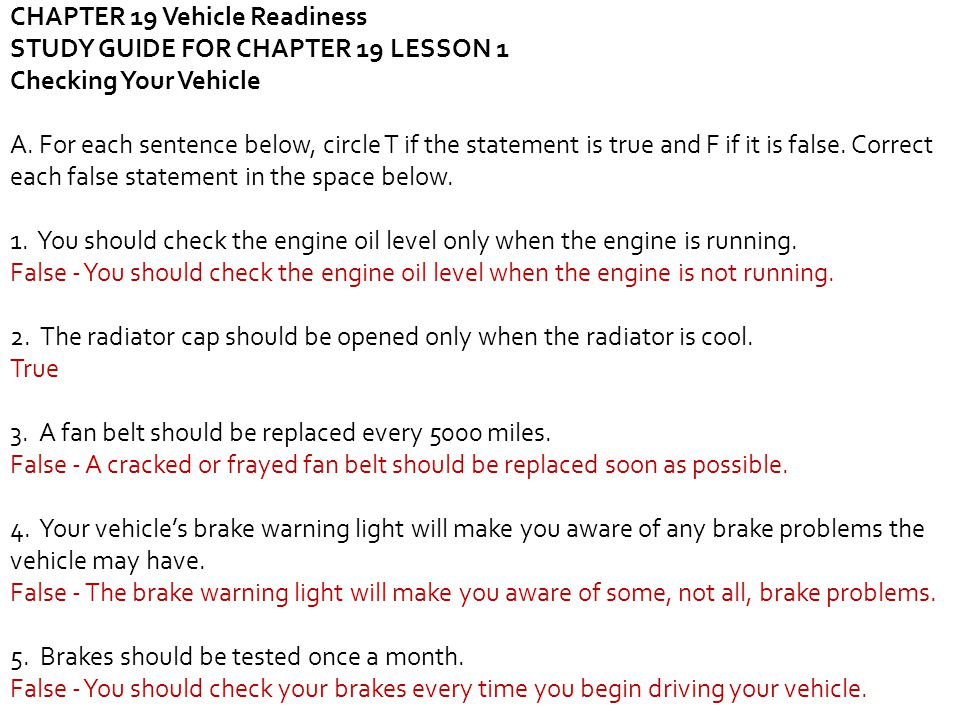 impact texas young drivers answers lesson 1
