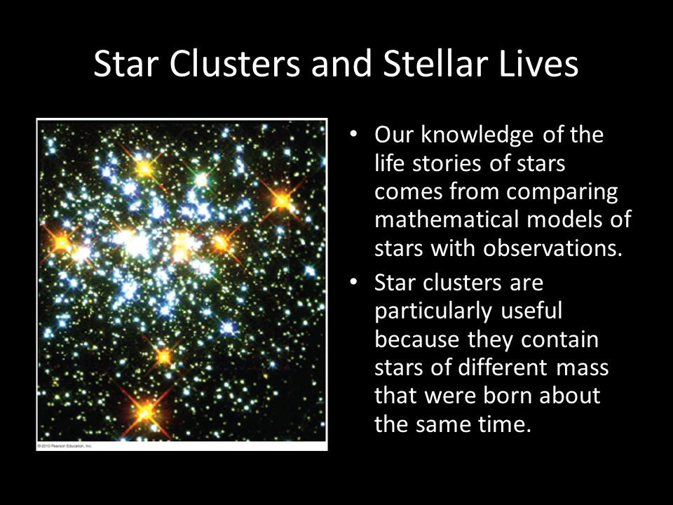 Star Clusters and Stellar Lives